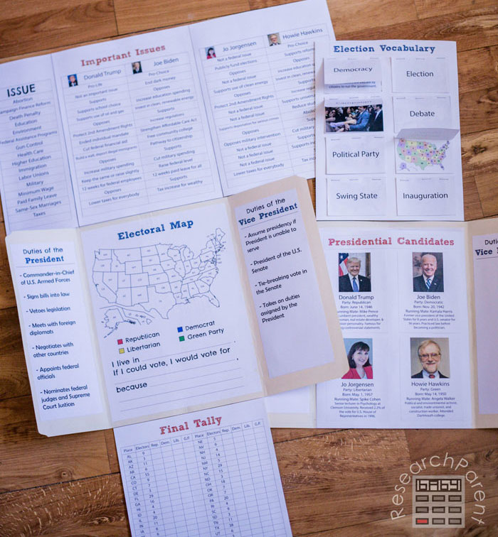 2020 United States Presidential Election Lab Book