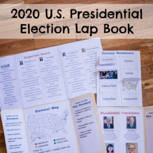 2020 U.S. Presidential Election Lap Book