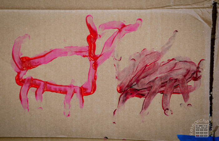 6 year old cave painting