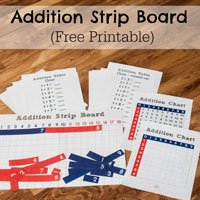 Addition Strip Board