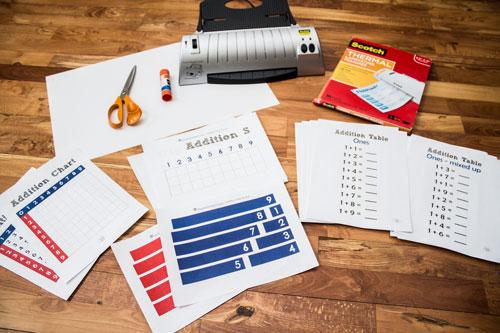 Addition Strip Board Supplies