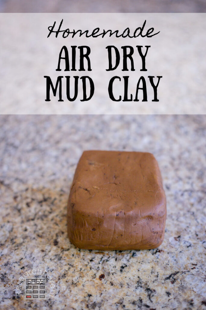 Homemade Air Dry Mud Clay