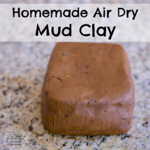 Homemade Air Dry Mud Clay