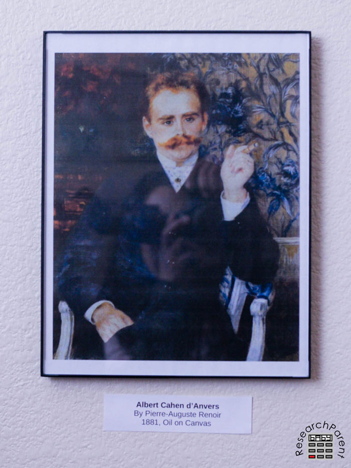 Albert Cahen dAnvers by Renoir