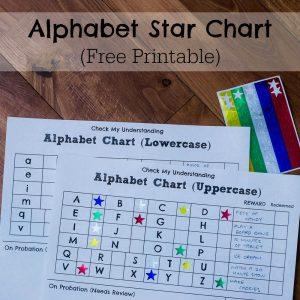 Alphabet Star Charts