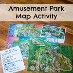 Amusement Park Map Activity