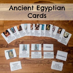 Ancient Egyptian Cards