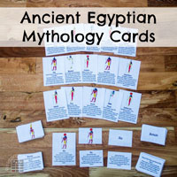 Ancient Egyptian Mythology Cards