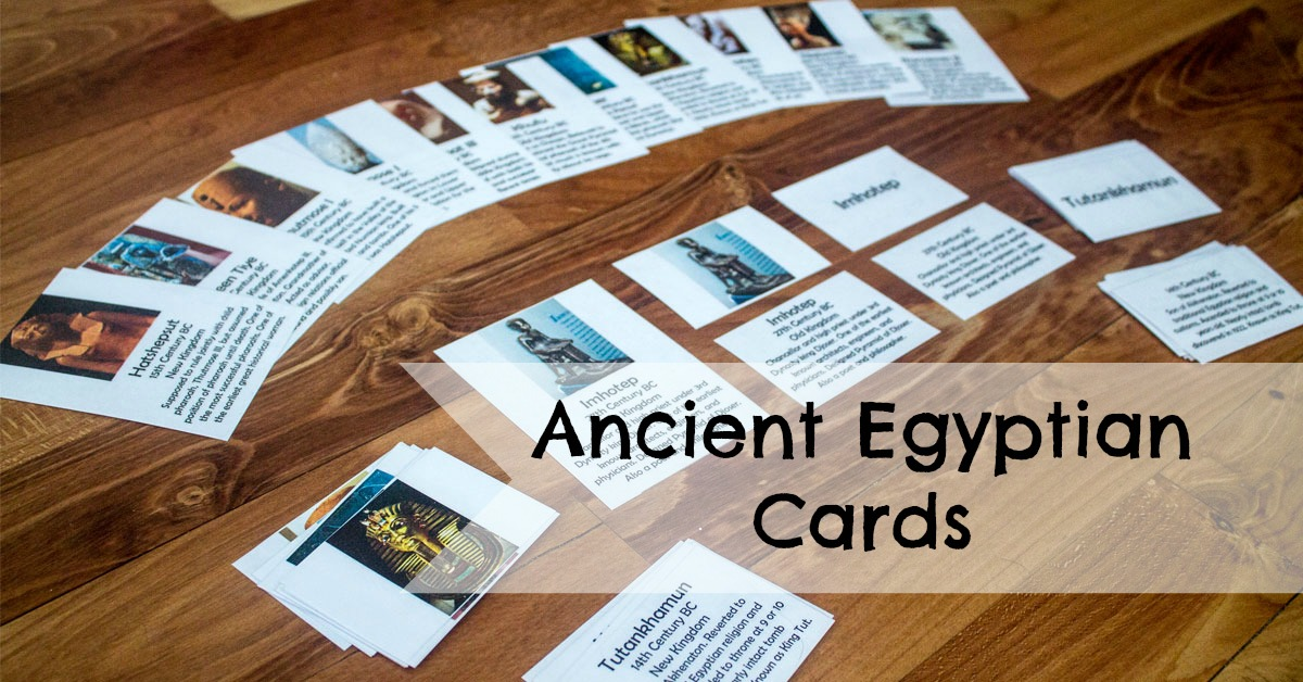 Ancient Egyptian Cards Researchparent Com