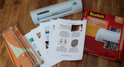 Ancient Greece Definition Card Supplies