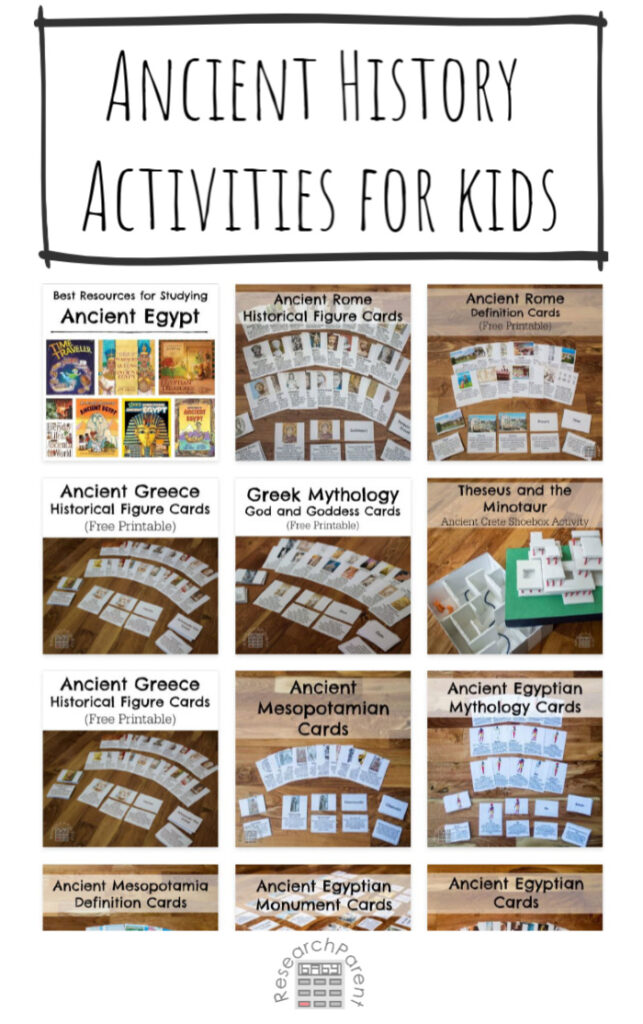 Ancient History Activities for Kids