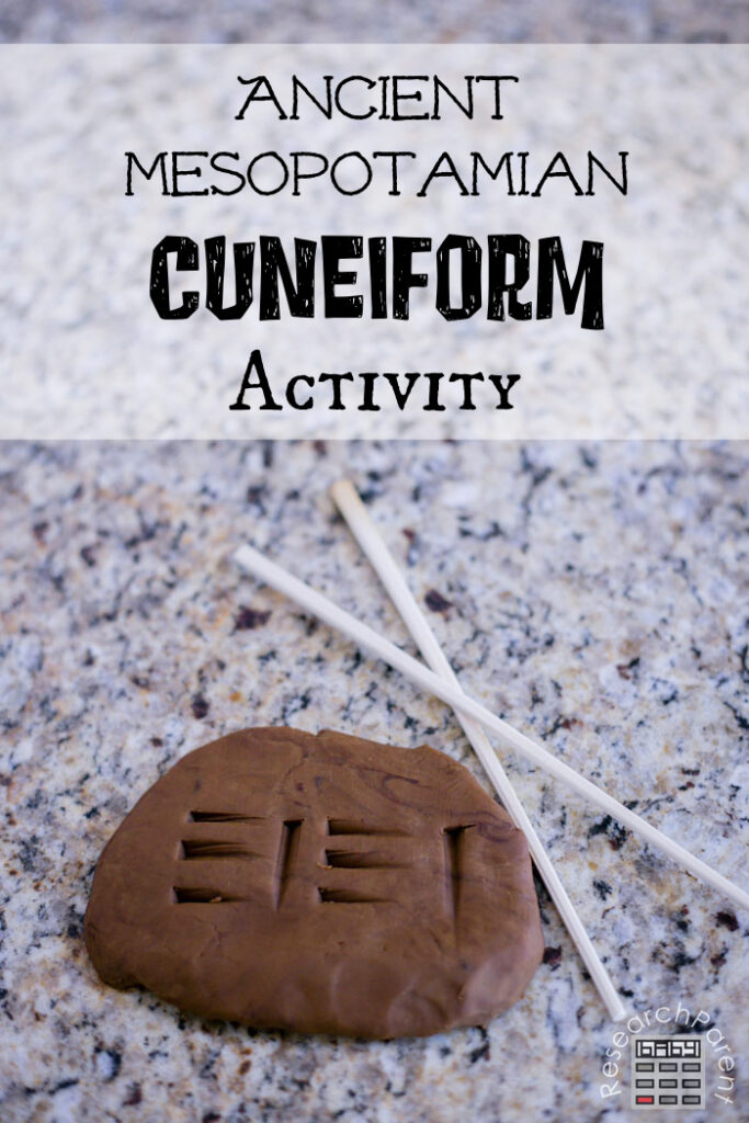 Ancient Mesopotamian Cuneiform Activity