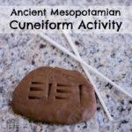 Ancient Mesopotamian Cuneiform Activity