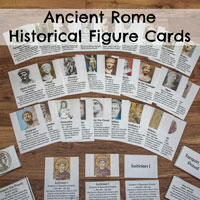 Ancient Rome Historical Figure Cards