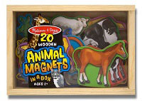Wooden Animal Magnets by Melissa & Doug