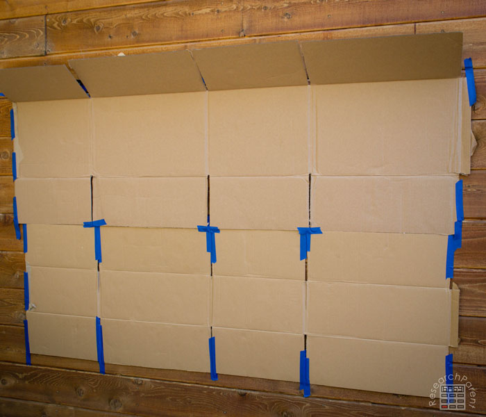 Attach boxes to the wall