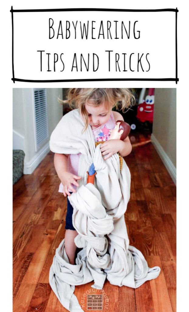Babywearing Tips and Tricks