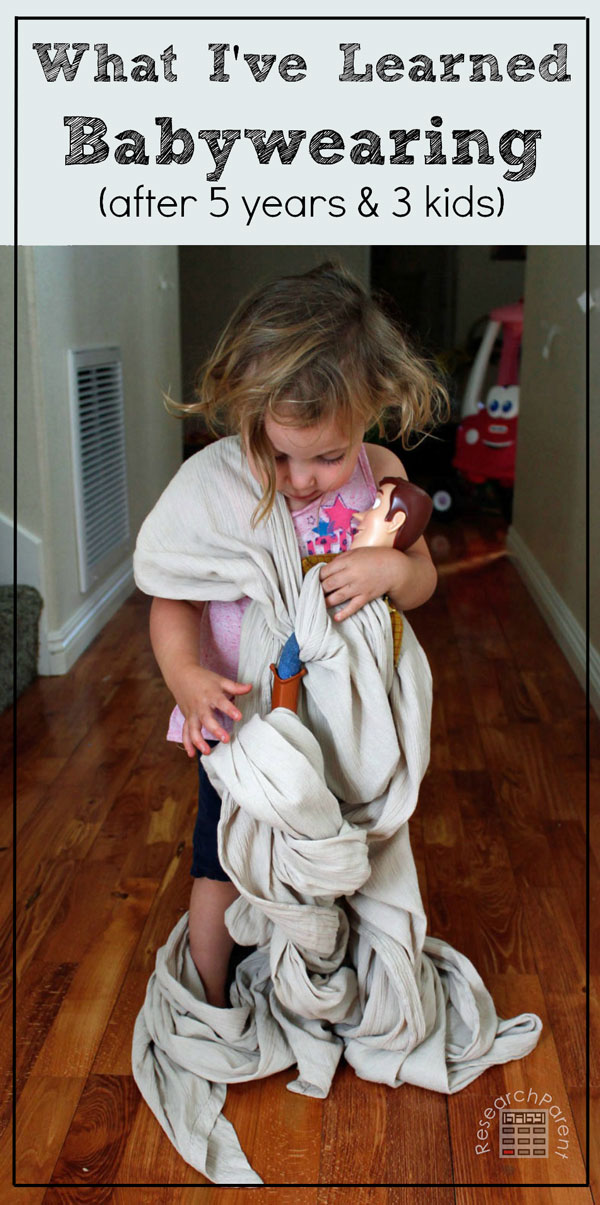 What I've Learned Babywearing by ResearchParent.com