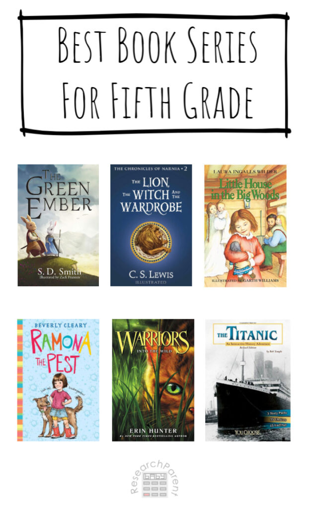 Best Book Series for Fifth Grade