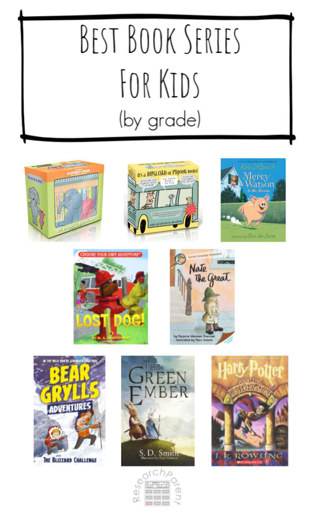 Best Book Series for Kids By Grade