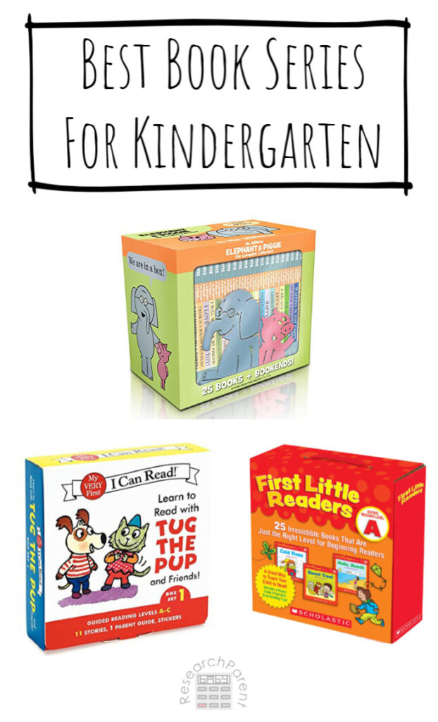 Best Book Series for Kindergarten