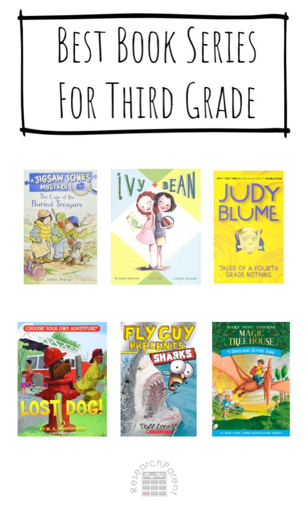 Best Book Series for Third Grade