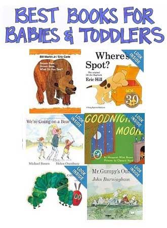 Selection of Best Books for Babies and Toddlers