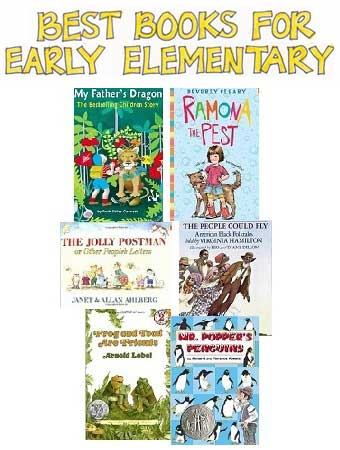 Best Books for Early Elementary Pin