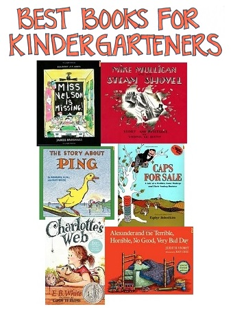 Selection of Best Books for Kindergarteners