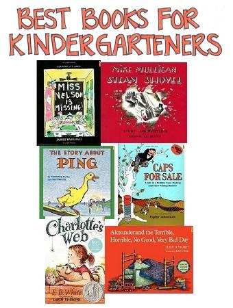 Best Books For Kindergarten Researchparent Com