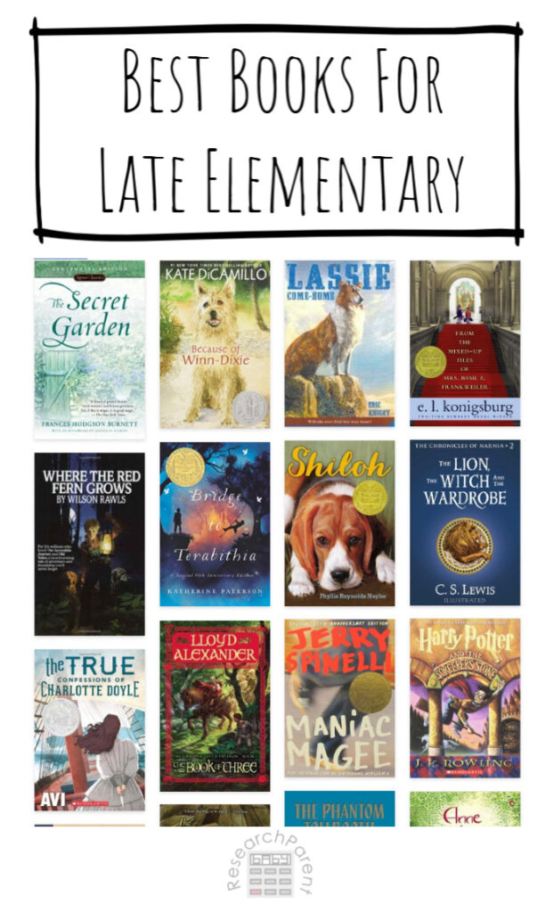 Best Books for Late Elementary