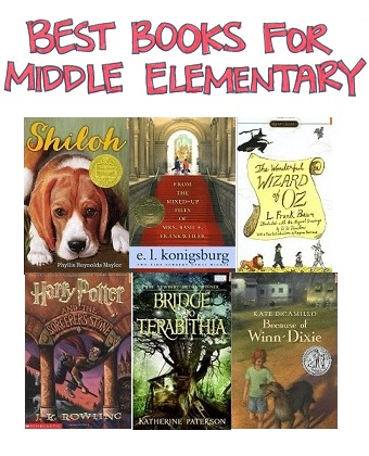 Selection of Best Books for Mid Elementary