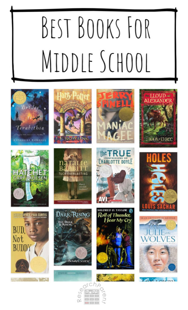 Best Books for Middle School