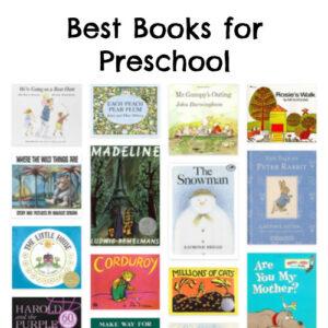 Best Books for Preschool