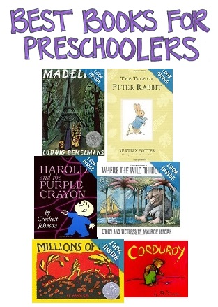 Selection of Best Books for Preschoolers