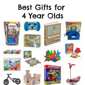 Best Gifts for 4 Year Olds