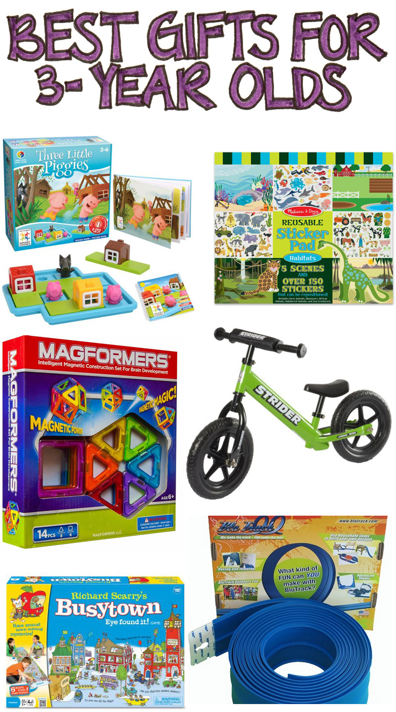 Toys For Three Year Olds : Best gifts for year olds researchparent