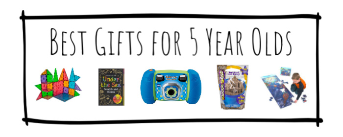 Best Gifts for 5 Year Olds