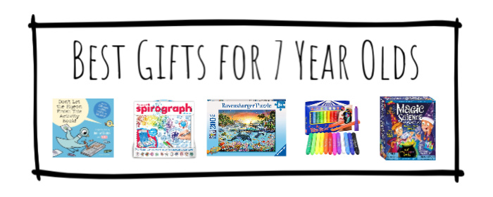 Best Gifts for 7 Year Olds