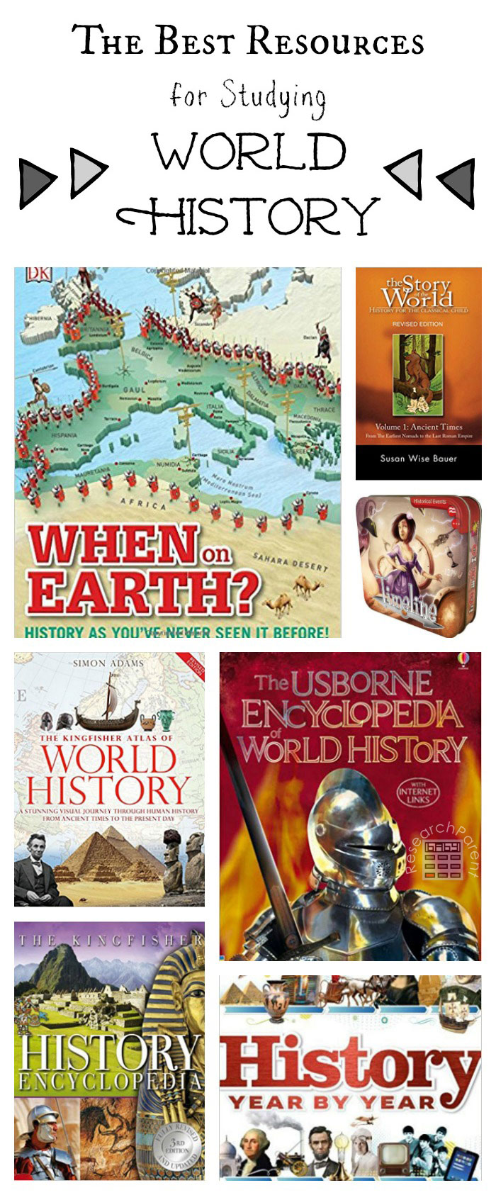 Best Resources for Studying Ancient Egypt - Ever-growing list containing several of the best books, games, and media for a wide variety of age ranges including elementary and middle school.