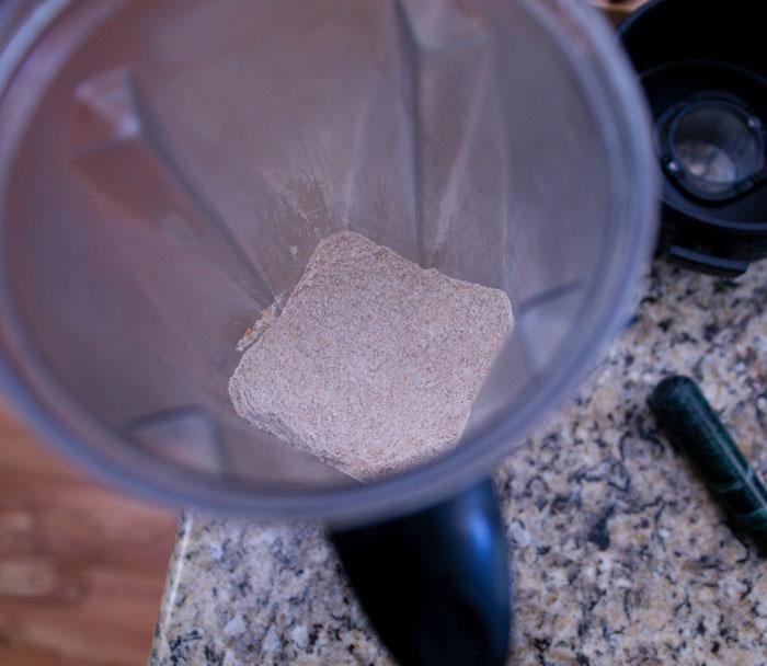blended flour