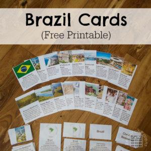 Brazil Cards