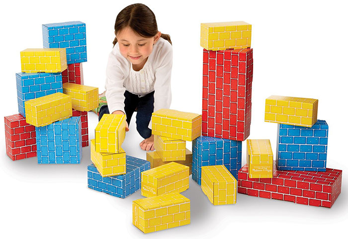 Cardboard Blocks by Melissa and Doug