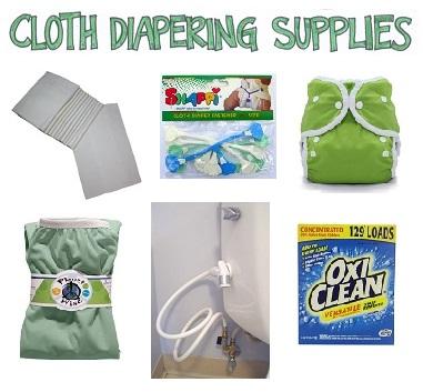 Cloth Diapering Supplies