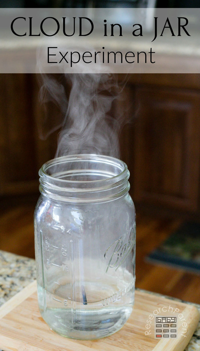 Cloud in a Jar Experiment