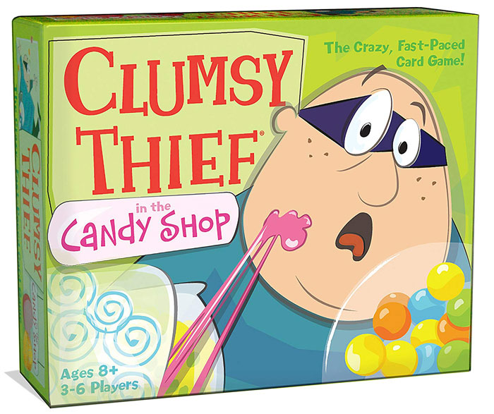Clumsy Thief in the Candy Shop by Melon Rind