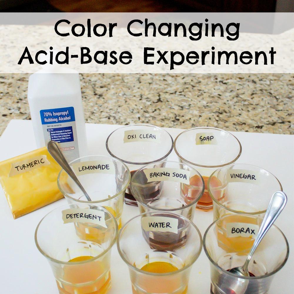 Color Changing Acid-Base Experiment - ResearchParent.com
