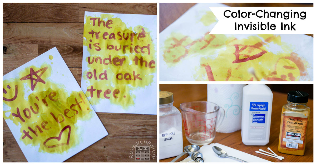 Color Changing Invisible Ink Researchparent Com
