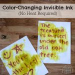 Color-Changing Invisible Ink
