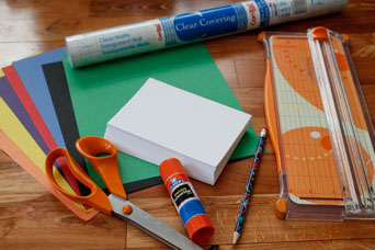 Color Pattern Card Supplies